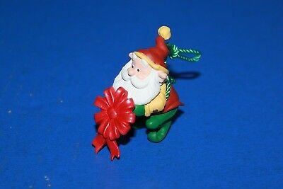 Cute Hallmark Santa's Elf Christmas Ornament