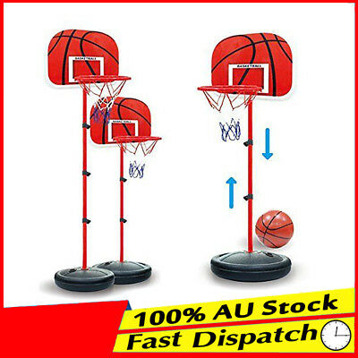 Ring Portable Kids Adjustable Junior Height Basketball Stand System