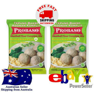 2x Indofood Nasi Goreng Oriental Fried Rice 45g Indonesian Cuisine Halal