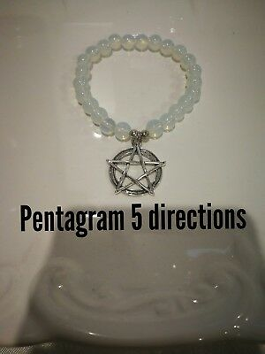 Code 439 Opalite Pentagram Infused Bracelet Doreen Virtue Certified Practitioner