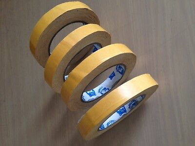 Husky Double Sided Polypropylene Tape 4 Rolls 18mm x 25 metres Tape No.175