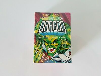 The Savage Dragon Boxed Trading Card Set Still Sealed 1993 Comic Images