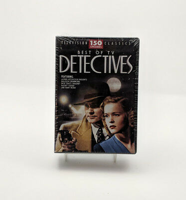 Television Classics 'Best of TV Detectives' 150 Episodes ~ Brand New, Sealed!