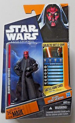 "Darth Maul ( 4"") Star Wars ( 2009 ) Clone Wars Action Figure ( Dual Lightsaber )"