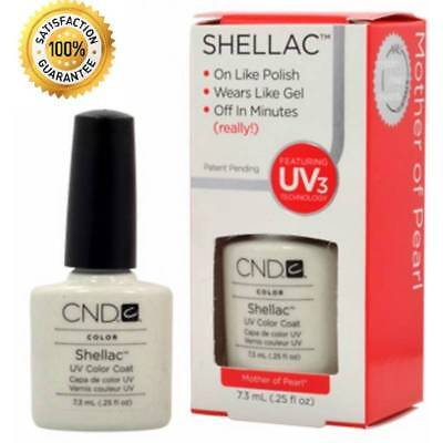 CND Shellac Mother of pearl Color 40520 Gel UV Nail Polish 0.25oz  New Old Stock