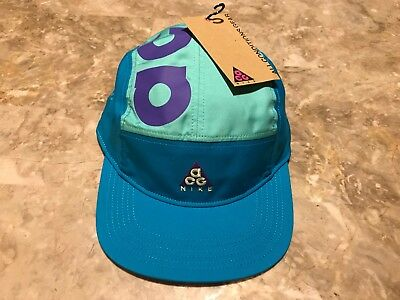 NEW 2018 Collection Nike ACG 5 Panel Blue Adjustable StrapBack Hat Sold Out  AW84 eea4bbaa52f0