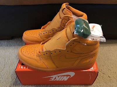 Nike Air Jordan 1 Retro Hi OG G8RD Men's sz 15 Gatorade Orange Peel AJ5997-880