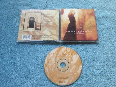 LOREENA MCKENNITT--The Visit--CD--AUTOGRAPHED COVER