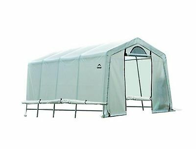 GrowIt 20 ft. x 10 ft. x 8 ft. Greenhouse-In-A-Box Home Plant Shelter Garden
