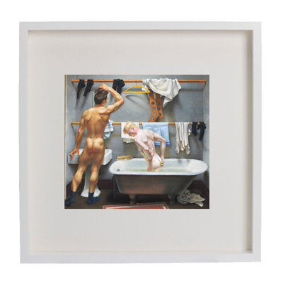 Great gay artist Paul Cadmus: Wall Picture Framed,   20 1/2 x 20 1/2 inches