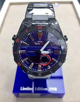 5bce2435573d CASIO EDIFICE ERA-110TR-2A Scuderia Toro Rosso Limited Edition Original  Package