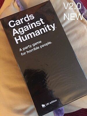 Cards Against Humanity UK V2.0 Edition New Sealed 600 Cards FAST SHIP Top Seller