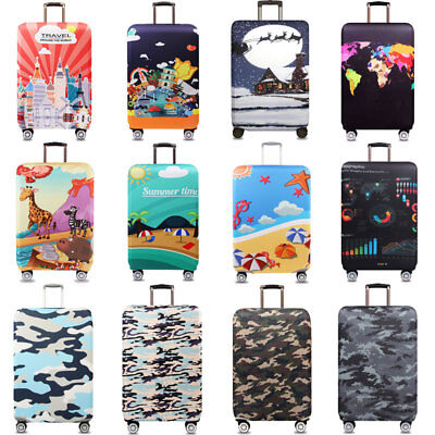 "18"" -32"" Thicken Luggage Skin Case Elastic Travel Suitcase Trolley Case Cover"