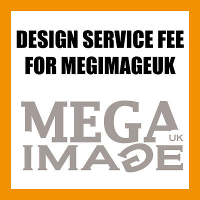 Design Service For Print Postage Upgrades For Our Products Only