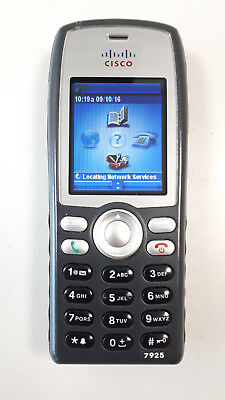 Cisco 7925G Wireless IP Phone with charger (CP-7925G-E-K9)