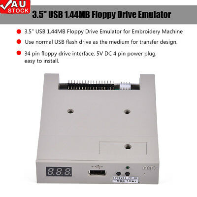 """3.5"""" USB SSD Floppy Drive Emulator Compatible Industrial equipment 1.44MB Floppy"""