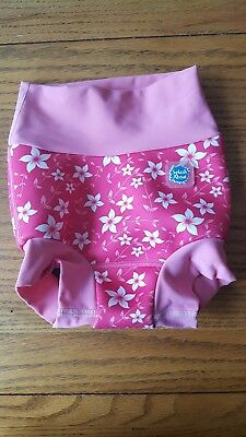 Large 6-12 Months Splash About Happy Nappy Swim Nappy Floral