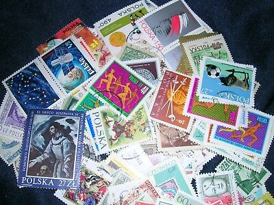 Poland Postage Stamps over 200 stamps mixed  great condition