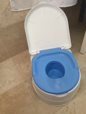 Summer Infant 3 in 1 Potty, toilet trainer and step