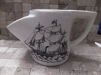 Vintage Lord Nelson Pottery Shaving Mug - Savannah Auxiliary Steam Packet 1819