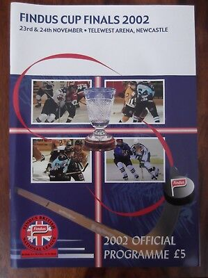 Findus Cup Finals 2002 Ice Hockey - Official Programme