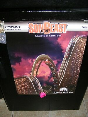 Kings Island Amusement Park Son of Beast Roller Coaster Poster Limited Edition