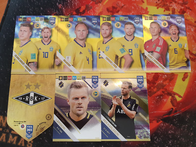 FIFA 365 2019 Nordic Cards Adrenalyn XL Panini