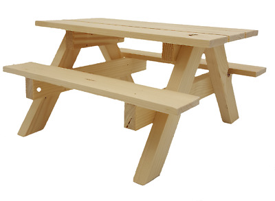 Afternoon Cream Tea Wooden Picnic Bench Cake Stand