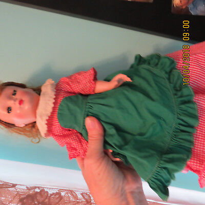 "Beautiful Vintage Madame Alexander Little Women Clothing tagged ""Meg"""