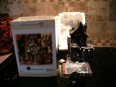 Halloween Department 56 200Snow Village Be Witching Costume Shop Mib