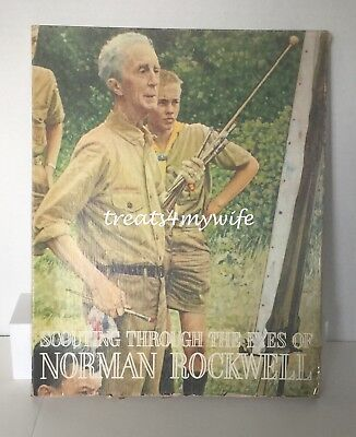 VINTAGE~SCOUTING THROUGH THE EYES of NORMAN ROCKWELL~40 PRISTINE 11x14 PRINTS