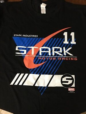 Marvel Stark Industries Loot Crate Exclusive T-Shirt Mens Size Small