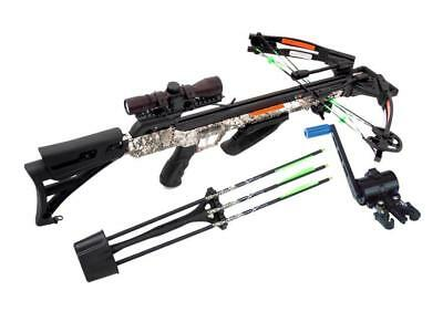 Carbon Express 20310, Piledriver 390 Crossbow Package with 4x32 Scope Badlands A