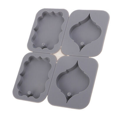 Silicone Leaves Design Aroma Wax Candle Tablet Ornament Mold DIY Soap Mould