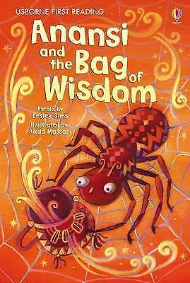 NEW USBORNE First Reading ( LEVEL ONE) ANANSI and BAG OF WISDOM paperback LEVEL1