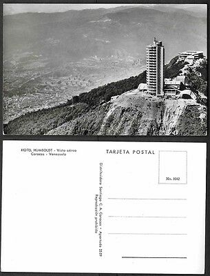 Old Venezuela Real Photo Postcard - Caracas - Hotel Humboldt, Aerial View