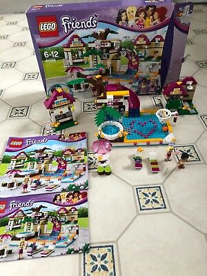 Lego Friends 41008 Heartlake City Pool Almost 100 Complete