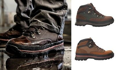 8dd8003a15ce Timberland PRO Men Euro Hiker Soft Toe Waterproof Work Boots MEDIUM Wide  Width