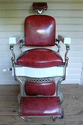 1920's Koken Barber Chair