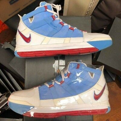 brand new c75e9 3c39b czech zoom lebron 3 houston oilers size 12 fast shipping extremely rare  4ce50 5da85
