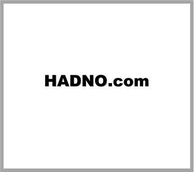hadno.com  ~ Short Premium Pronounceable Domain Name ~ BRANDABLE 3 4 5 letter
