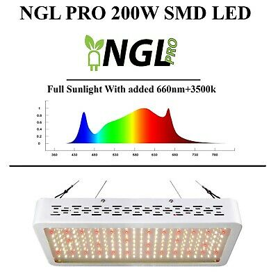 LED Grow Light 400w 600w 800w HPS Replace Full Spectrum Veg & Flower All Stages