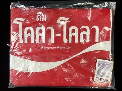 Vintage Thailand COCA-COLA T-Shirt Red Adult Medium 38-40 New In Package