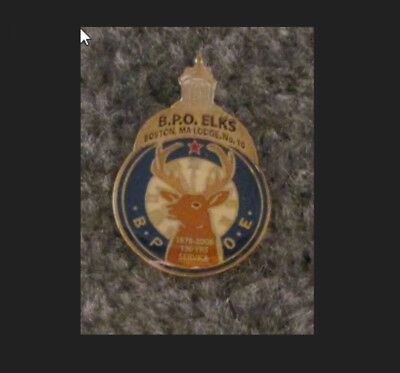 130Th Anniversary Of The Mother Lodge #10 Collectable Elks Pin Bpoe