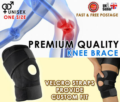 Neoprene Adjustable Knee stabilising Brace Belt Open Patella arthritis Support