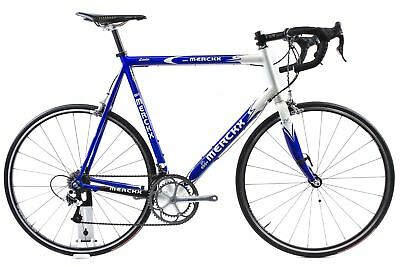 Used 2004 Eddy Merckx Leader 62cm Road Bike Campagnolo Record Titanium 10 Xl 1 099 99 Picclick