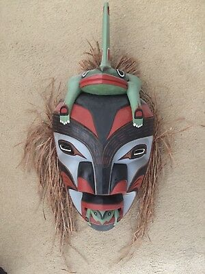Pacific Northwest Mask by Stanley Clifford Hunt