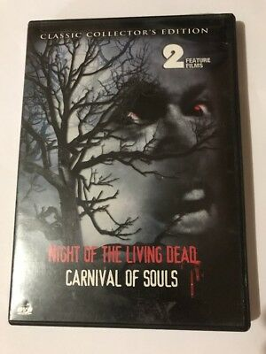 Night of the Living Dead / Carnival of Souls (DVD, 2004)