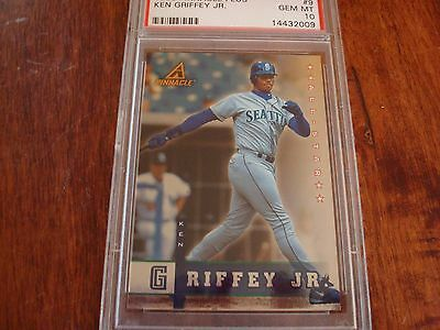 639078ca68 1998 Pinnacle Plus All Star Ken Griffey Jr Seattle Mariners PSA Gem MT 10
