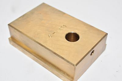 NEW Nissei C-5477 Cam Block Linear Guide Manifold Block 3-1/4'' x 2-1/4''